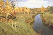 Isaac Ilich Levitan Golden Autumn (nn02) oil painting artist